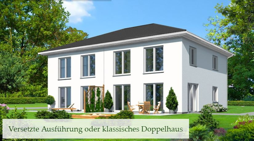 neubau architekten stadtvilla doppel oder einfamilienhaus oder bungalow in berlin mahlsdorf. Black Bedroom Furniture Sets. Home Design Ideas