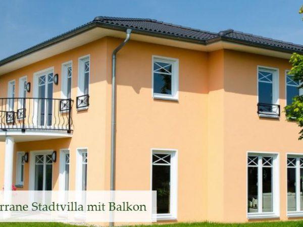 villa mit balkon